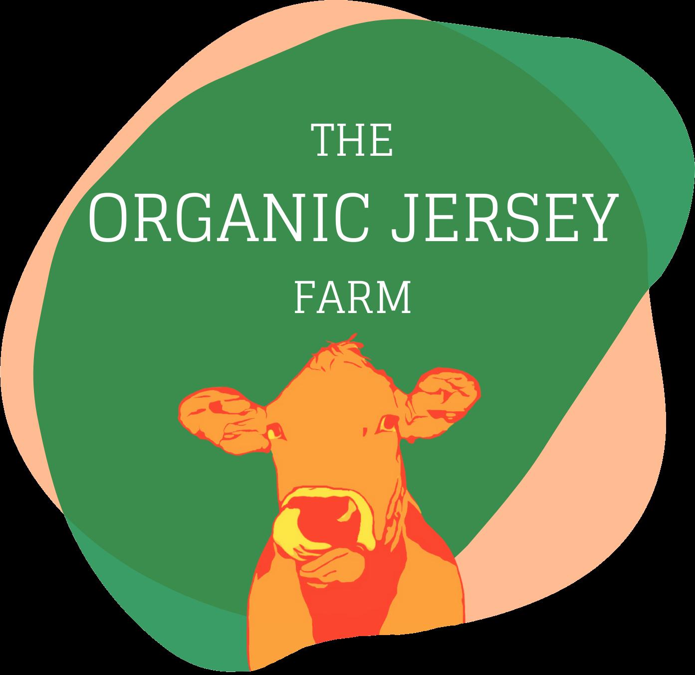 The Organic Jersey Farm logo